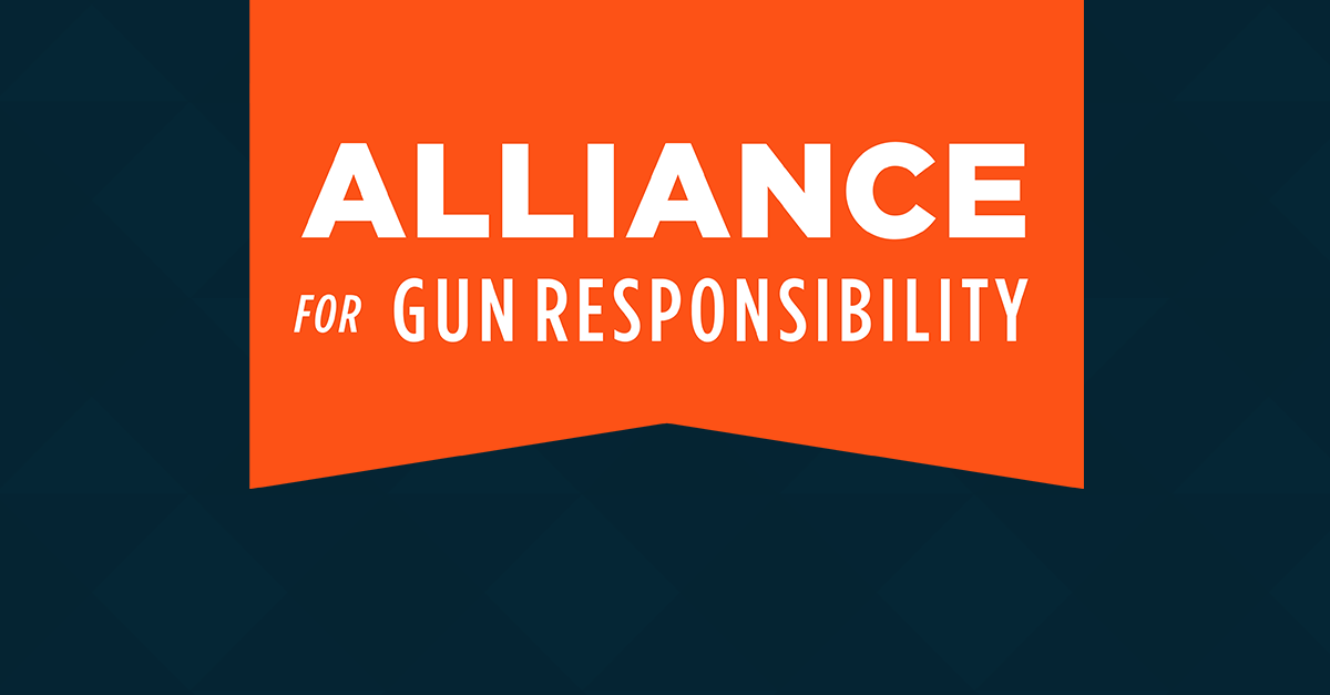 Image result for alliance for gun responsibility logo